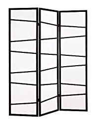 Roundhill 3-Panel Screen Room Divider…