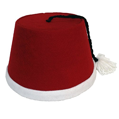 Cosplay & Fan Gear Men's Christmas Cosplay Fez
