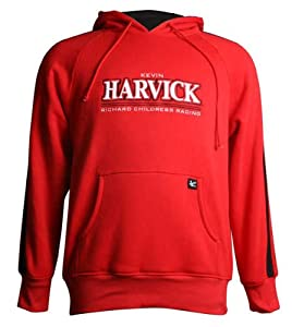 Kevin Harvick Chase Authentics Striped Hooded Sweatshirt (XX-Large) by Chase Authentics