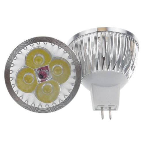 Lemonbest® 4W Mr16 Led Spotlight Bulb 12V, 35 Watt Haogen Replacement, Cool White