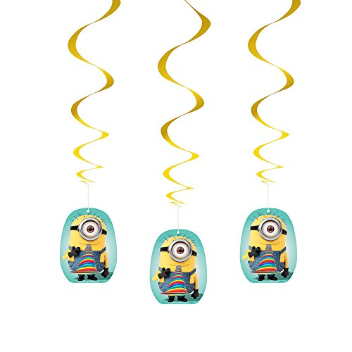 "26"" Hanging Despicable Me Decorations, 3ct - 1"