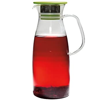Mist Glass Iced Tea Jug Large
