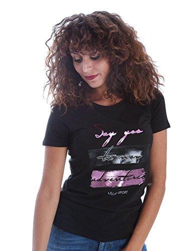 Liu-jo T66013J7835 T-shirt Donna Nero Xxl