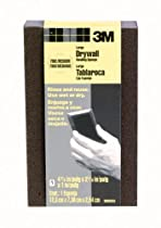 3M Large Area Drywall Sanding Sponge, Fine/Medium, 4.875-Inch by 2.875-Inch by 1-Inch