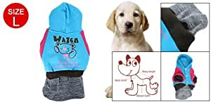 Small Winter Pet Puppy Dog Apparel Hoodies Coat Jacket Jumper Dress Clothes L