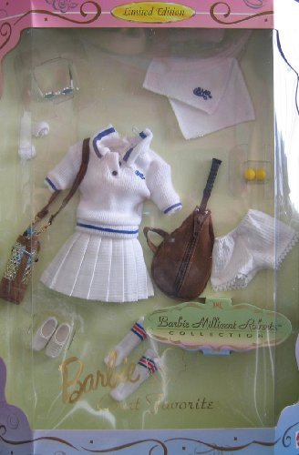 Barbie Millicent Roberts COURT FAVORITE Tennis Fashions Collection - Limited Edition (1997) by Limited Edition Barbie Millicent Roberts Collection Court Favorite