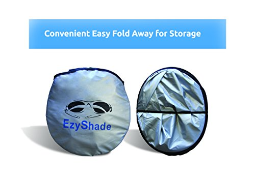 EzyShade Car Windshield Sunshade + FREE