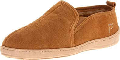 Propet Men's Romeo Slipper,Cinnamon,8 M US