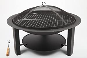 Point garden brasero 73 cm barbecue de jardin barbecue en for Brasero de jardin en fonte