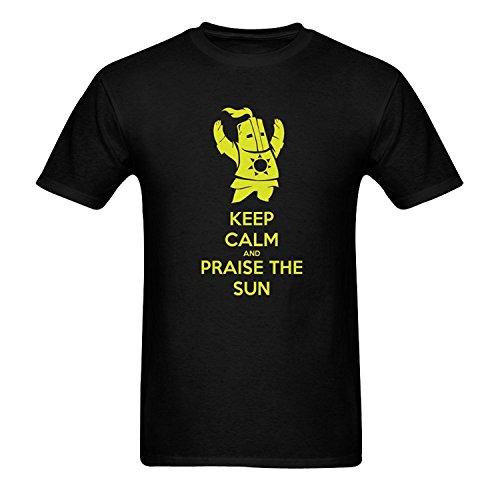 Men's Dark Souls Sunbro Praise the Sun T Shirts
