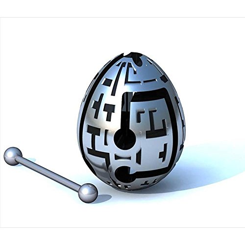 TECHNO 1-Layer Smart Egg Labyrinth Puzzle - 1