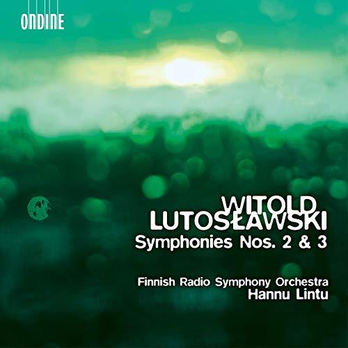 SACD : LUTOSLAWSKI / FINNISH RADIO SYMPHONY ORCH / LINTU - Symphonies 2 & 3