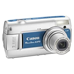 Canon PowerShot A470 Digitalkamera (7 Megapixel,  3-fach opt. Zoom, 2,5