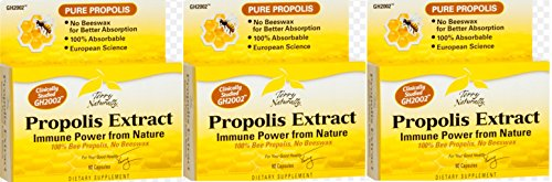 Terry Naturally/Europharma Propolis Extract -60 Capsules 3 Pack (Extract Naturally compare prices)