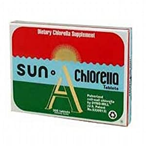 Sun Chlorella 200 mg 300 Tablets