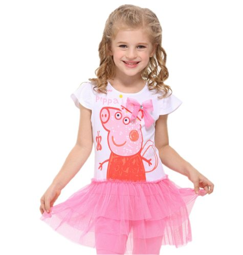 New 2014 Summer Peppa Pig Dress For Girl , Girl Dress, Girl Clothing,24 Months front-12462