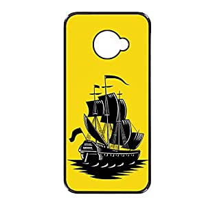 Vibhar printed case back cover for Sony Xperia E4 YellowShip
