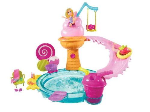 Polly Pocket Ice Cream Water Park Playset Amazon.com