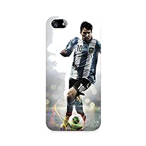 Mobicture Messi on the Move Printed Phone Case for Apple iPhone 5/5s/SE