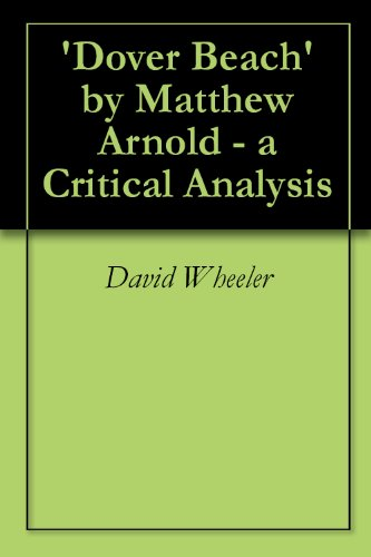 analysis dover beach matthew arnold 1