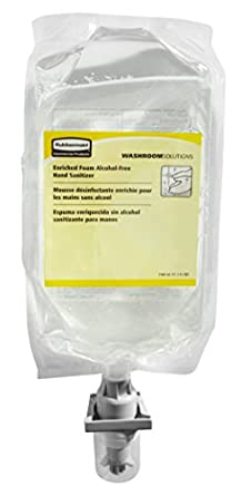 Rubbermaid Commercial FG750593 AutoFoam Hand Sanitizer Refill Alcohol-Free,37.2 Fl OZ