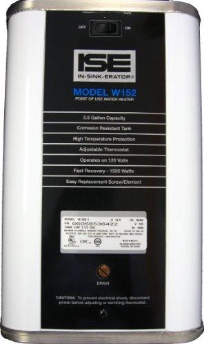 Merveilleux 8± InSinkErator W152 Electric Undercounter Water Heater, 2 1/2 Gallon