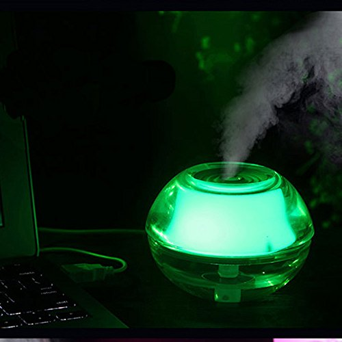 Beauty World 2014 New Usb Mini Air Humidifier Night Light- Humidifier Air Purifier
