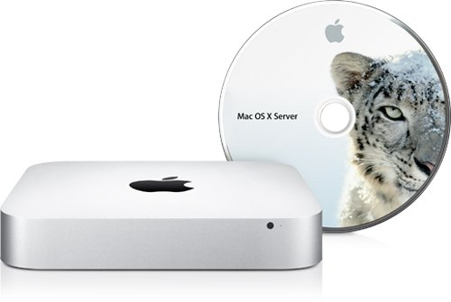 Apple Mac Mini, 2.66GHz, 4 GB, Intel Dual 500 GB, Geforce 320M, Snow Leopard Server 2