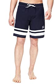 Blue Harbour Cut & Sew Drawstring Swim Shorts [T28-7977B-S]