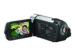 Canon FS300 Flash Memory Camcorder w 41x Advanced Zoom Silver