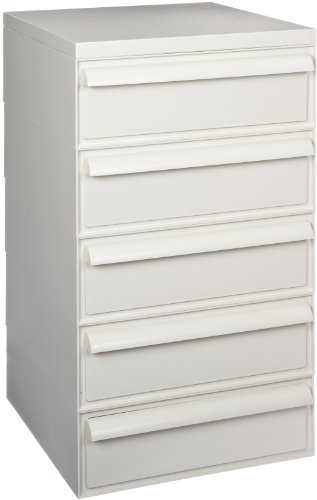 Kartell 211654 Microscope Slide Cabinet Including 5 Drawers And 1 Cover