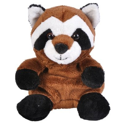 Raccoon Beanie Bean Filled Plush Stuffed Animal - 1