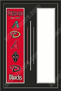 Arizona Diamondbacks & Your Choice of other Team Heritage Banner Framed-House... by Art and More, Davenport, IA