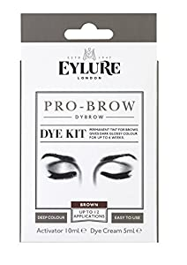 Eylure PRO BROW - DYBROW DYE KIT - DARK BROWN