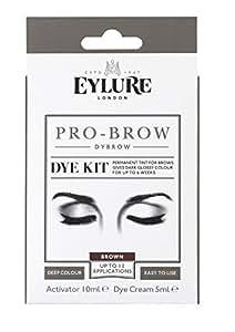 Eylure PRO BROW - DYBROW DYE KIT - DARK BROWN