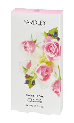 Londra Yardley English Rose Sapone di lusso 3 x 100 g