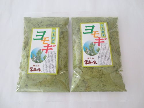Wormwood powdered 50gx2 bag Nara Prefecture from spring harvest organic synthesis save fee synthetic coloring fee additive-free cake making in the Mugwort tea