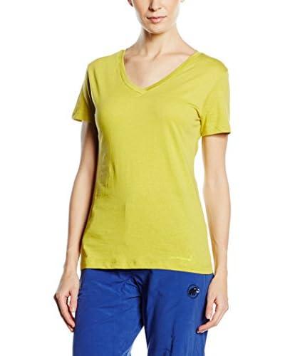 Mammut Camiseta Manga Corta Zephira Amarillo