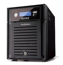 BUFFALO TeraStation RAID6対応 Read.65MB/s 4.0TB TS-XH4.0TL/R6