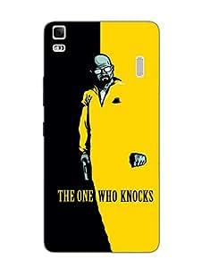 Lenovo A7000 Back Cover - Breaking Bad - The One Who Knocks - Designer Printed Hard Shell Case