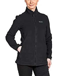 Jack Wolfskin Damen Fleecjacke Midnight Moon Women, Black, XS, 1702261-6000001