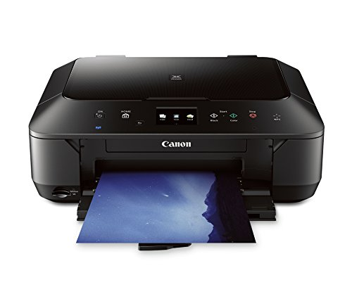 CANON PIXMA MG6620 WIRELESS ALL-IN-ONE COLOR CLOUD Printer, Mobile Smart Phone, Tablet Printing, and AirPrint(TM) Compatible, Black