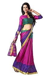 Tassar Printed Silk Saree By Spangel Fashion