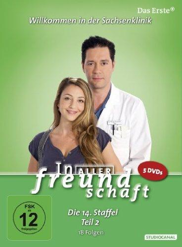 In aller Freundschaft - Die 14. Staffel, Teil 2, 18 Folgen [5 DVDs]