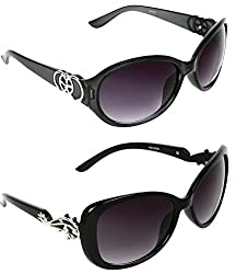 Redix New 2 in 1 TraditionaL Black Butterfly Sunglasses For Mens and Womens