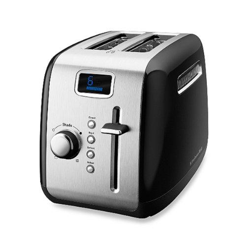 The Smart Black Of Kitchenaid® 2-Slice Digital Toaster