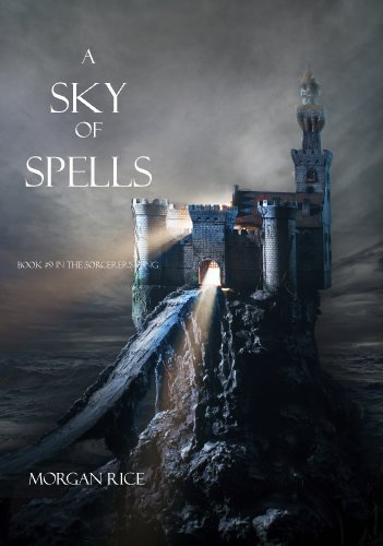 A Sky of Spells (Book #9 in the Sorcerer's Ring) | freekindlefinds.blogspot.com