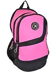 Liberty BAGS Polyester 25 Liters Pink School Backpack - B01JP6AJXM