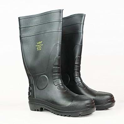 "Amazon.com: 15.5"" Mens Waterproof Winter Snow Rain Rubber"