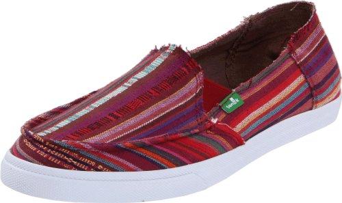 Sanuk Women's Standard Poncho Slip-On,Magenta,6 M US